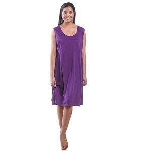 0a57f4b184d My Bella Mama. Sleeveless Nursing Nightgown Breastfeeding Gown